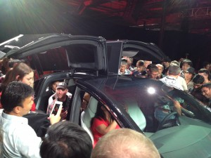 Tesla Model X Event 3